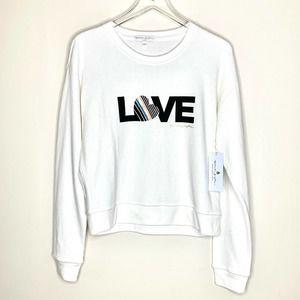 SPIRITUAL GANGSTER Love Savasana Pullover White L
